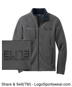 Eddie Bauer Full Zip Fleece Design Zoom